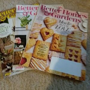 Other - Lot 3 Magazines Better Homes & Gardens